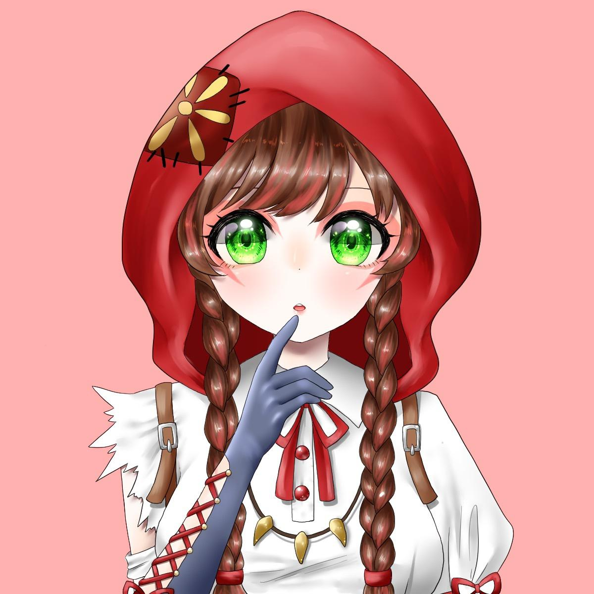 SNSのアイコンなどに♡可愛い女の子描きます ゆるふわ、キラキラな女の子を可愛くお描きします♡