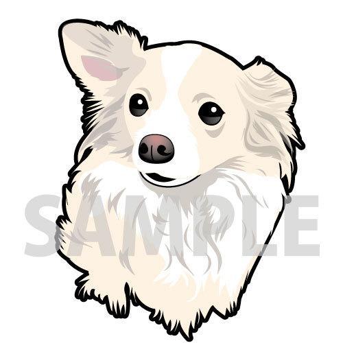 ペットのイラストをお写真のままお描きします 大切な家族であるワンちゃんねこちゃんの記念に!