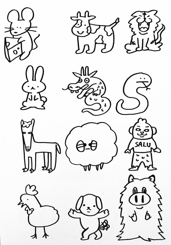 可愛い大切なペットのイラスト、ゆるかわいく描きます SNSやLINEのアイコンや観賞用にオススメです