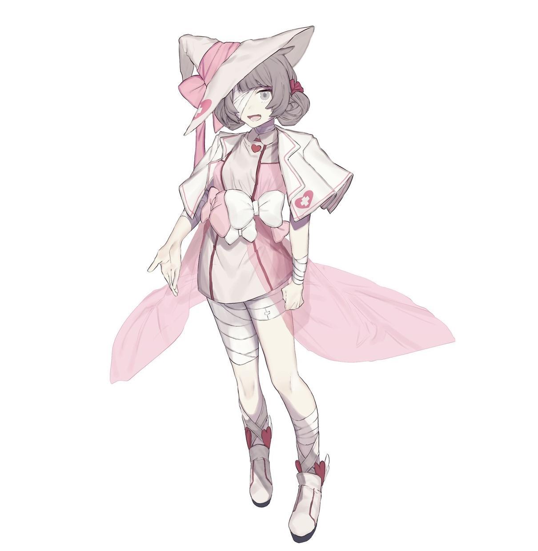 オリジナルキャラクターの上半身、立ち絵描きます かわいい/ゲームイラスト系統の絵柄でキャラクターお描きします