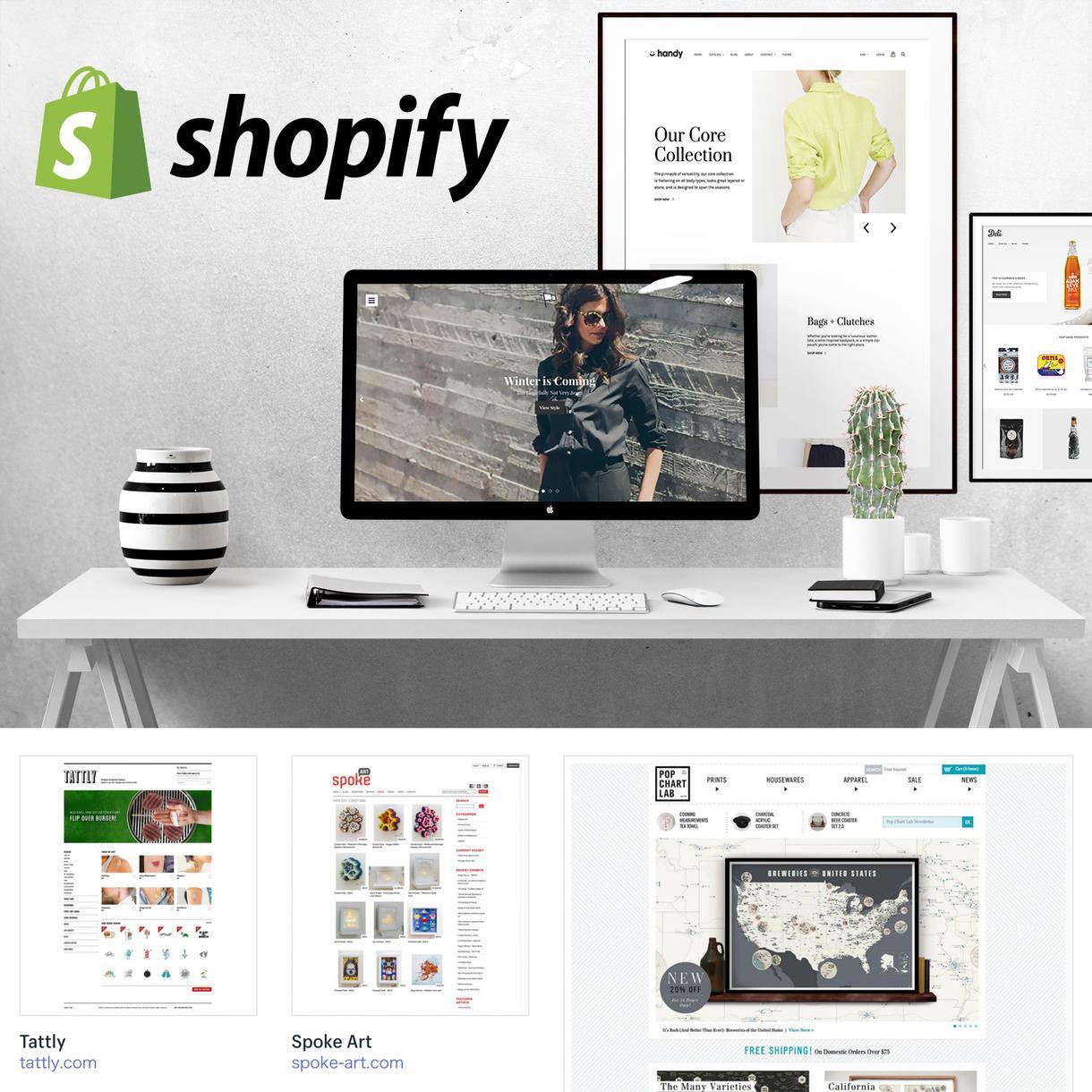 ShopifyでECサイトネットショップ作成します 本格的でおしゃれなネットショップを持ちたい方におすすめです!