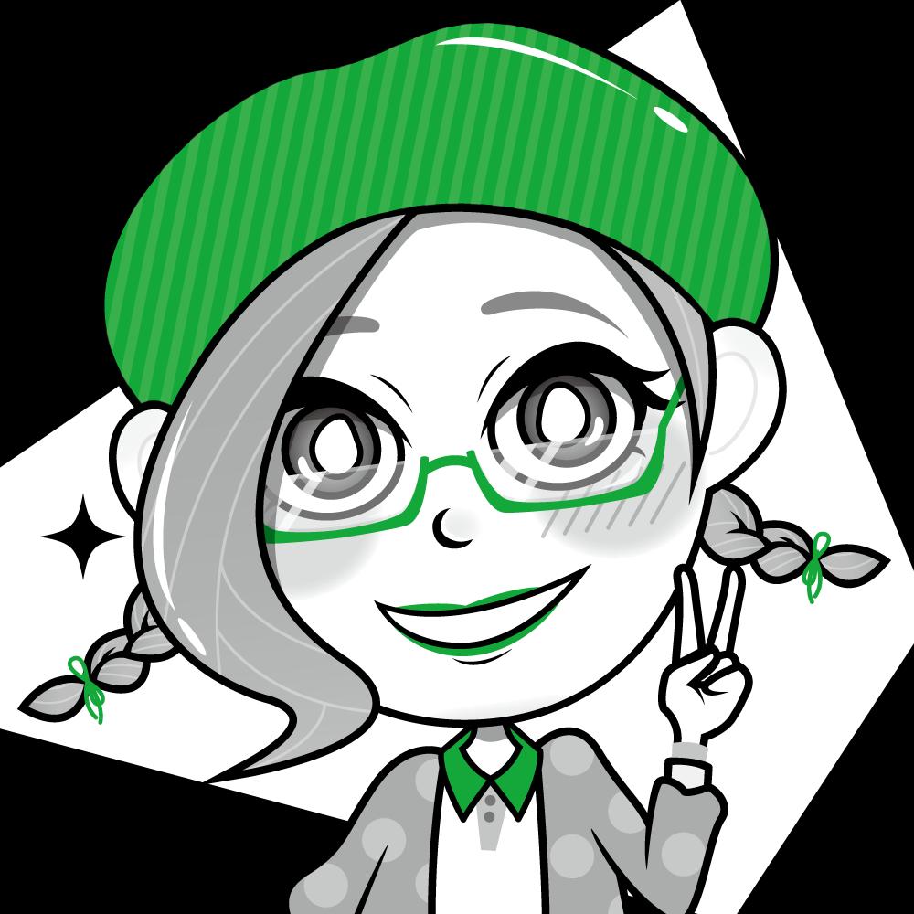 【アイコン】*+☆2色で目立つ☆+*あなたのキャラクターをお描きします!