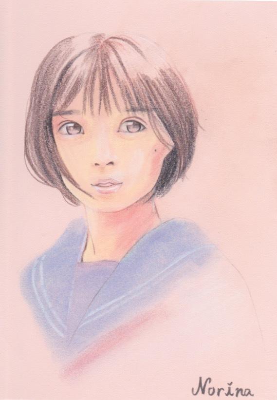やさしい雰囲気の肖像画のような似顔絵を描きます 女性へのプレゼントにオススメ!