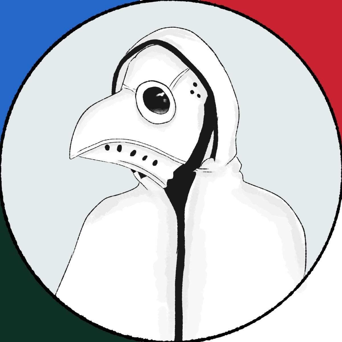 あなたのイメージでペストマスク、ガスマスク描きます 開けてからのお楽しみ5個セットです