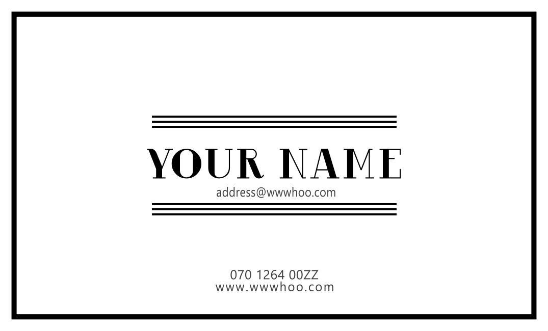 記憶に残るクリア デザイン名刺 200枚つくります 人とは違う洗練されたデザインの名刺が手に入ります!