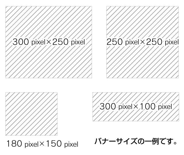 小さいWEBバナー作ります 【1000円】長辺500ピクセル以下のバナー