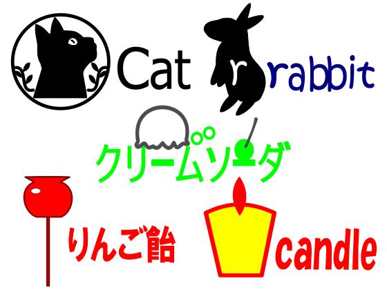 2~3色以上をメインにしたロゴを作成します 【個人の方にオススメ!ロゴがほしい方にもオススメ!】