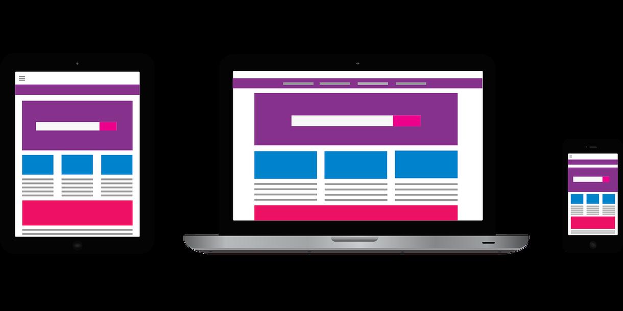 理想的なWebサイト(ホームページ)を制作します SEO対策も施したWebサイトを制作(スマホ画面にも対応)