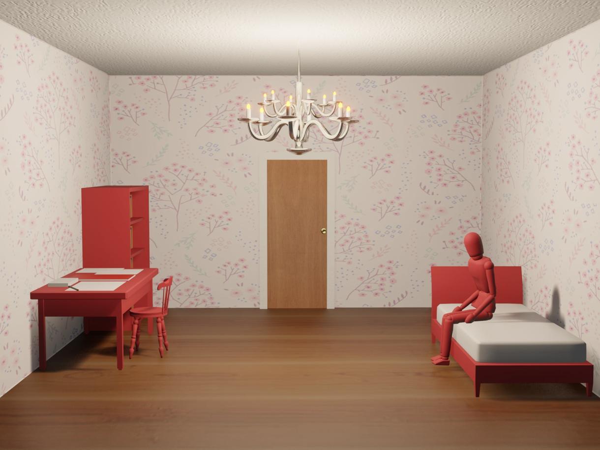 簡単な小物をモデリングで作ります 小物や、家具、室内の雰囲気等に