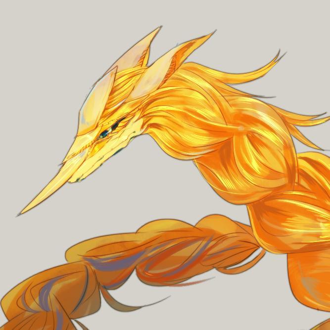 ドラゴンや人外キャラのアイコン描きます ラフ提出から納品までが早いです。