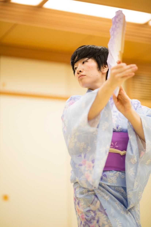 日本舞踊的な踊りの振り付けをします パリ・ジャパンエキスポ出演の舞踊家が振付!