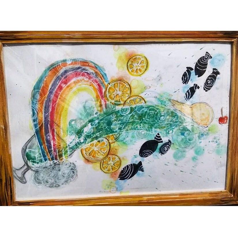 水彩でお題に沿って描きます アナログの水彩画を描きます!あなたの生活を彩りたい(⌒‐⌒)