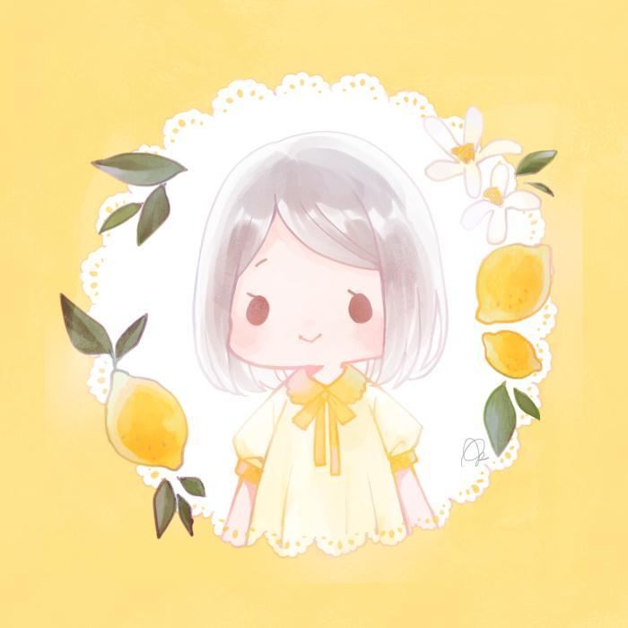 SNSで使えるアイコン描きます キャラクターと植物などの小物を一緒にお描きします。