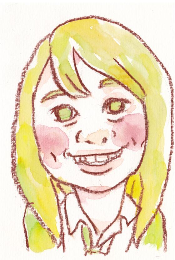 写真から似顔絵描きます。人物でもペットでもOK