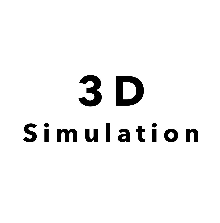 3Dシミュレーションいたします 3DCGを使ったシミュレーションをいたします イメージ1