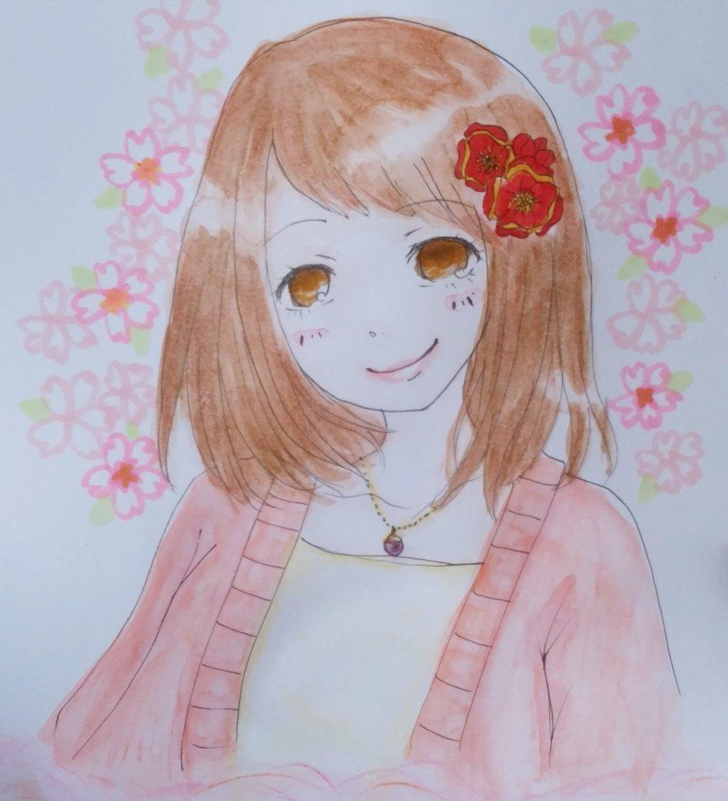 水彩画でプロフィール画像描きます 誕生日プレゼント、クリエイター、歌手の方などにおすすめです!