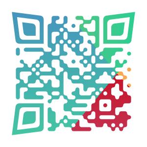 オリジナルのQRコードを作成致します QRコードを目を引く『デザイン』として見せられます!