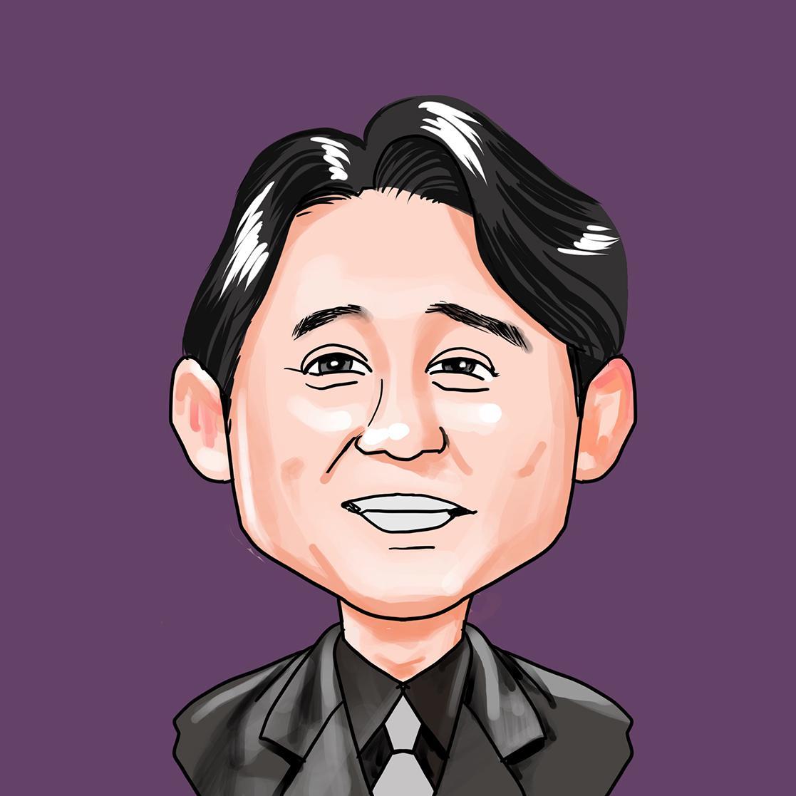 ポップな似顔絵★最短3日で制作します SNSアイコン、名刺に個性を。商用利用可。