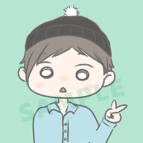 残4名様限定【1000円】ゆるかわアイコン描きます TwitterなどのSNSのアイコンや、ブログのプロフ用に♪