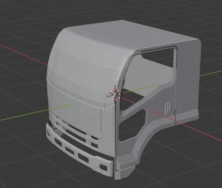 低価格車の3Dモデルつくります テクスチャない状態の3Dモデルつくります。