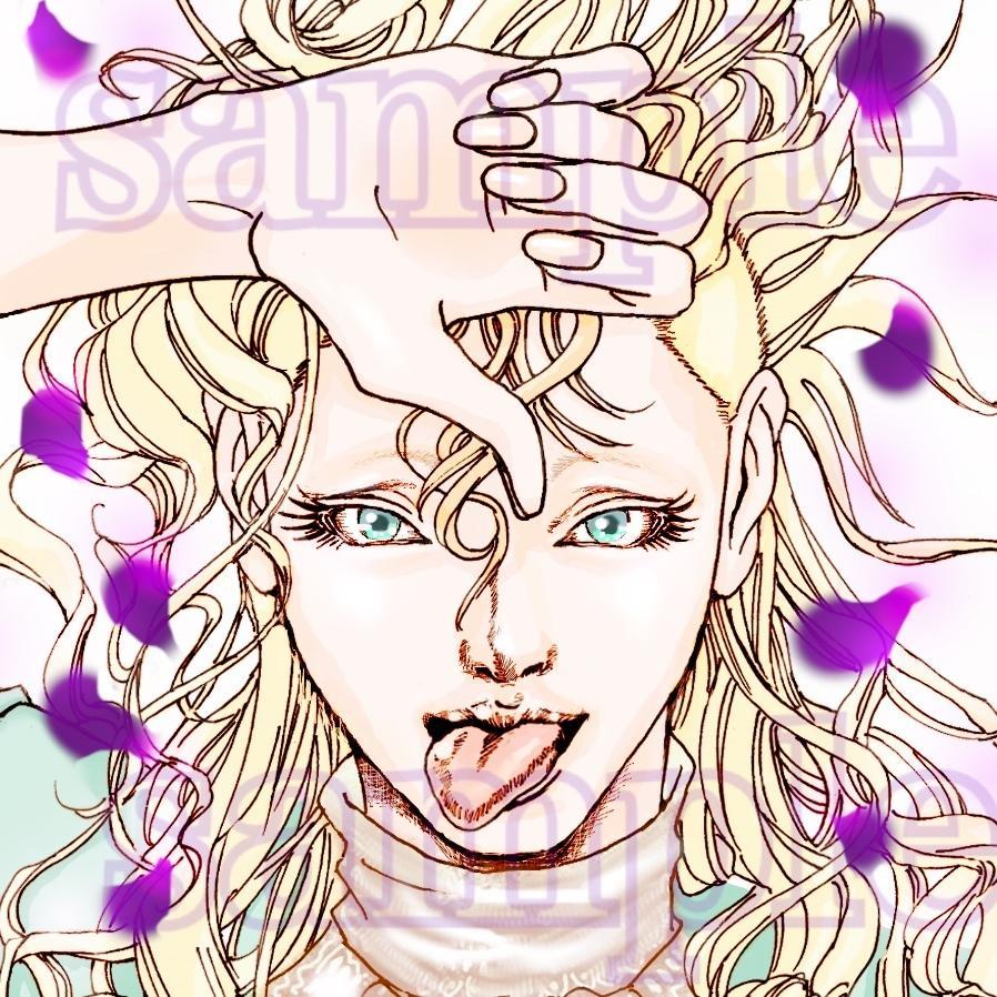 似顔絵、アイコンをお描きします 濃い目、少年漫画風の絵柄であなたらしさをアピール?!
