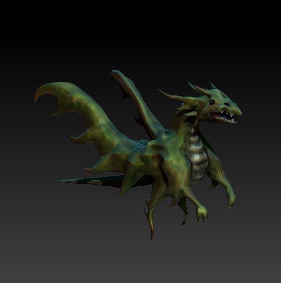 ゲーム制作中の方、モンスターを作成します あなたのイメージした、オリジナルの3D素材を提供します。