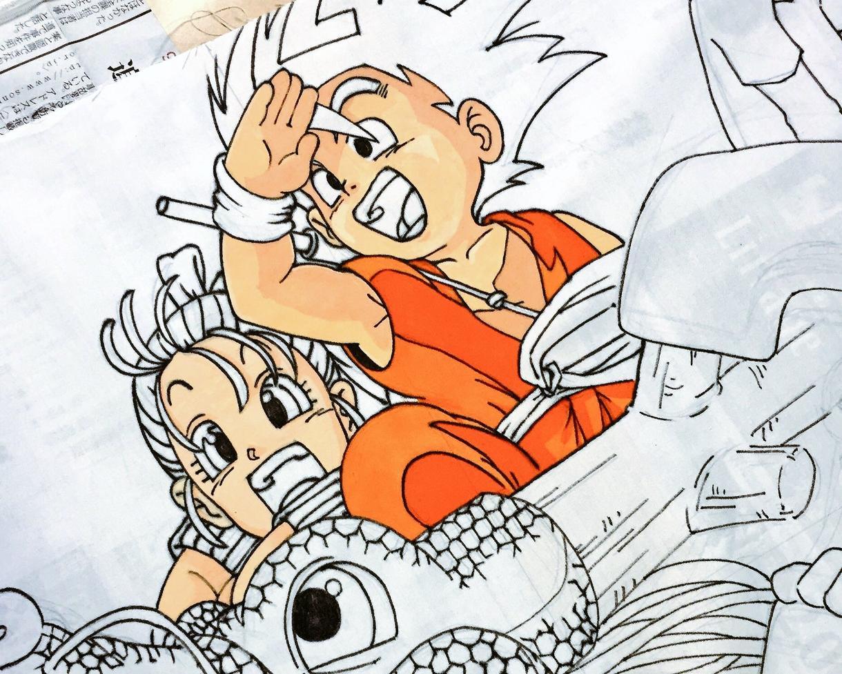 お好きなアニメ風イラスト描きます お好きなアニメのオリジナルイラスト描きます