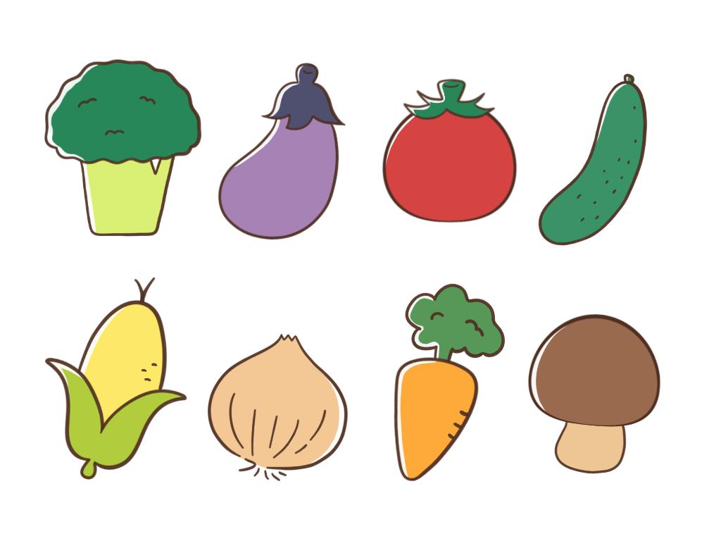 印象的で覚えてもらえる☆!!野菜の似顔絵描きます 安い!似顔絵イラストで印象的なアイコンや名刺を作りたい方へ
