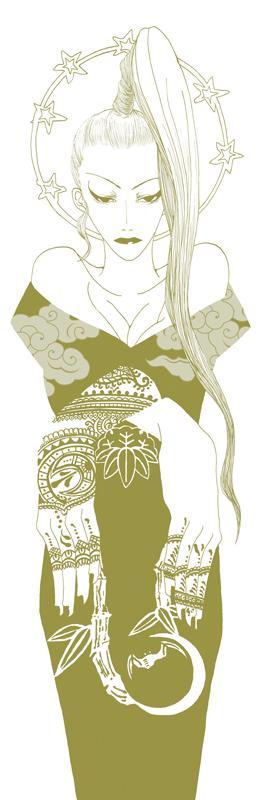 キャラクター立ち絵作成します ロック、和風、ゴシック風のキャラクターを探してる方にお勧め