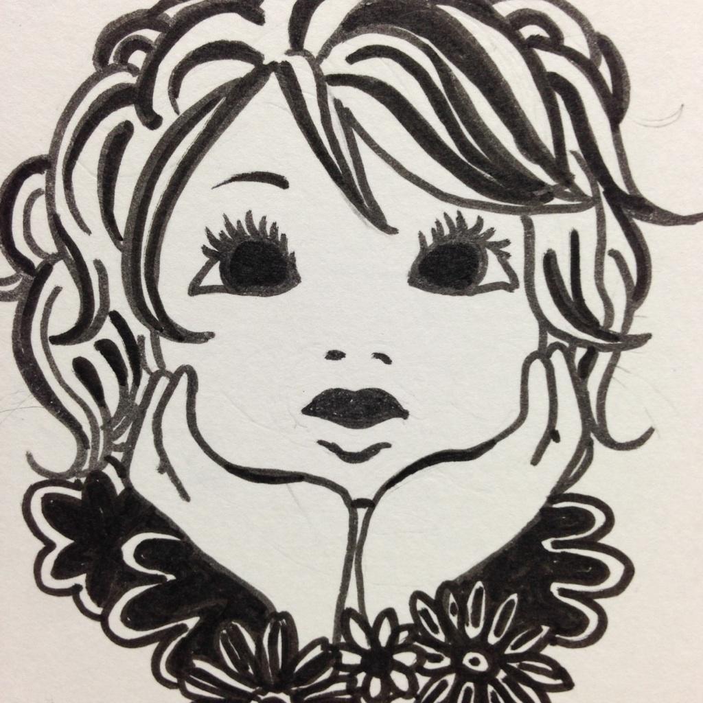 あなたのアイコンイラスト描きます(ツイッター、facebookなど)