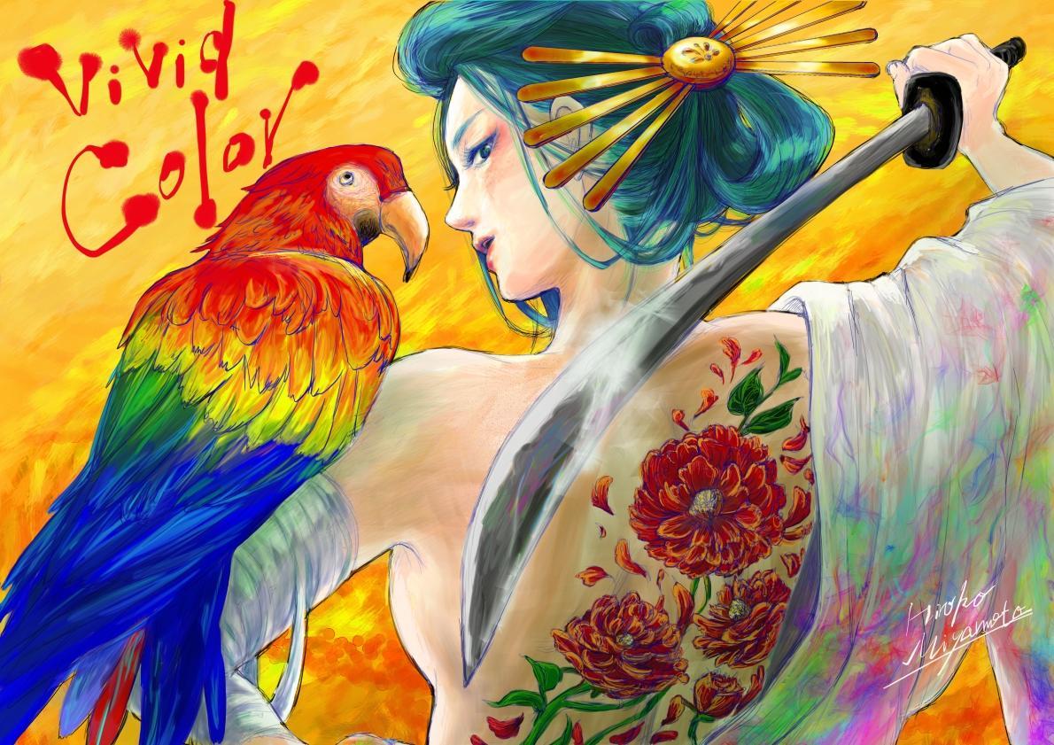 美麗な一枚絵をお描きします 小説の表紙絵やHP用オリジナルイラストなどにオススメ!