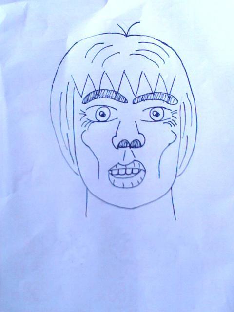 似顔絵を一筆入魂で描きます 誕生日祝い、お中元お歳暮にどうぞ