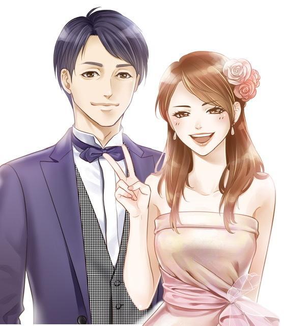 結婚式のウェルカムボード作成します 漫画調のイラストで可愛く描きます! イメージ1