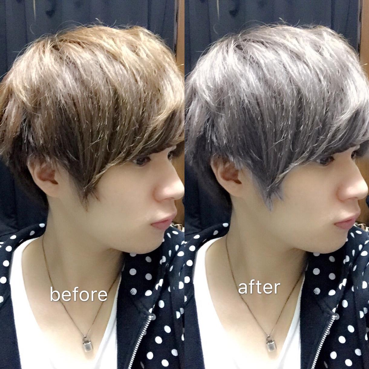 Photoshopであなたの髪色を自由に変えます どんな髪色が似合うかわからない方、仕事で髪色が変えれない方。