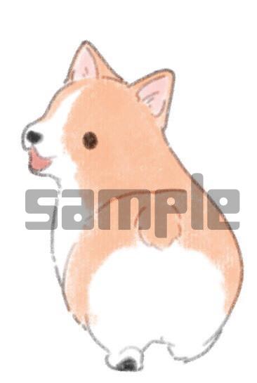 ゆるふわ動物イラスト描きます クレヨン画風のあたたかくてふわふわした動物のイラストです。