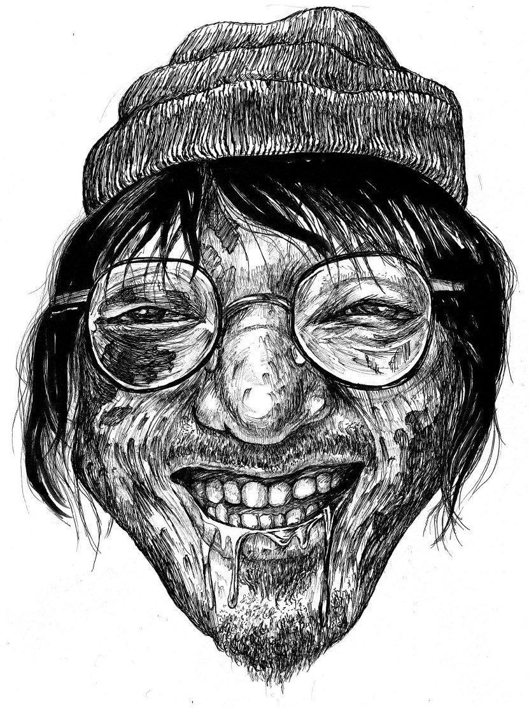 リアル過ぎ似顔絵描きます 閲覧注意!なリアル過ぎる似顔絵をボールペンで描きます。