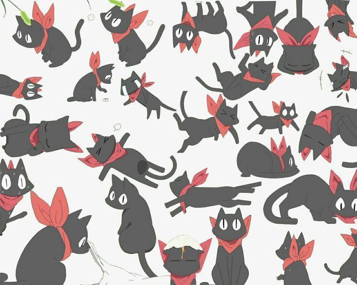 にゃんこアイコン描きます 飼い猫でもOK! ゆるゆるにゃんこプレゼント