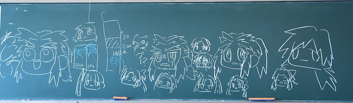 ペン一本あれば描けるような簡単なイラスト教えます サラッと描いて会話を広げませんか。