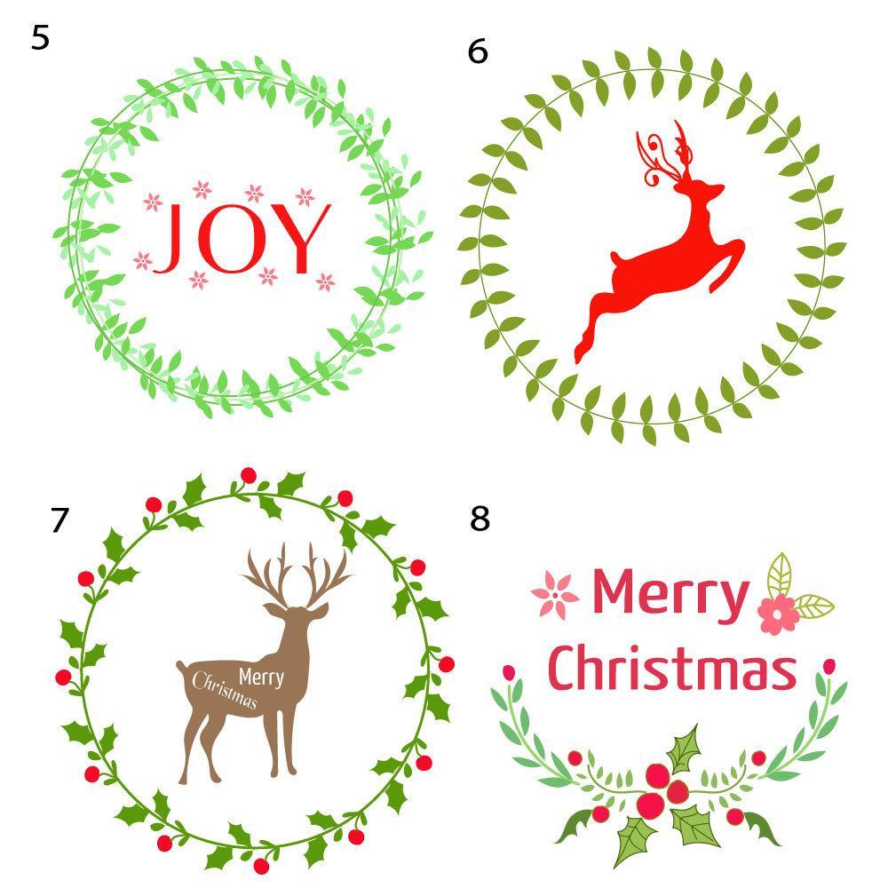 Christmasロゴデザインを販売致します デザインが選べる!クリスマスロゴ!新規制作も可能!