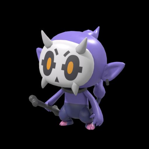 商用利用可能のゆるキャラつくります 可愛い3Dキャラクター制作をいたします!