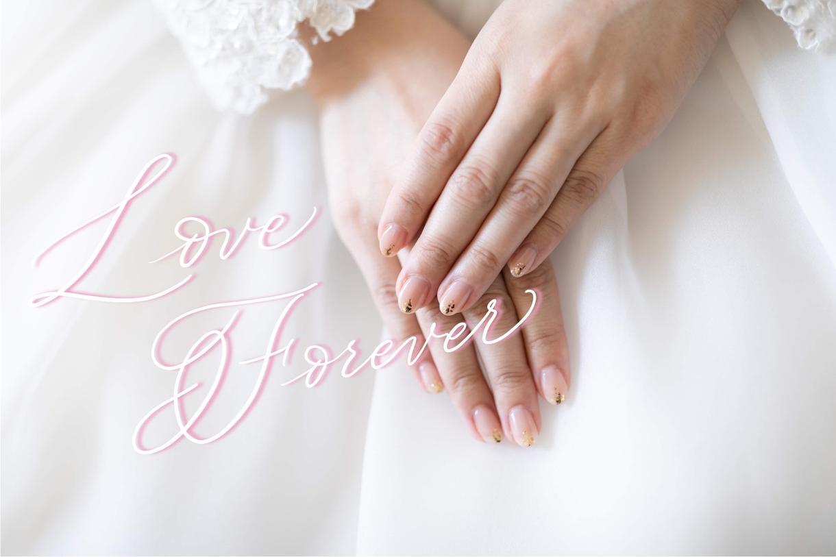 お好きな言葉を写真に書きます ♡結婚式など♡モダンカリグラフィーで写真に文字を書きます♡