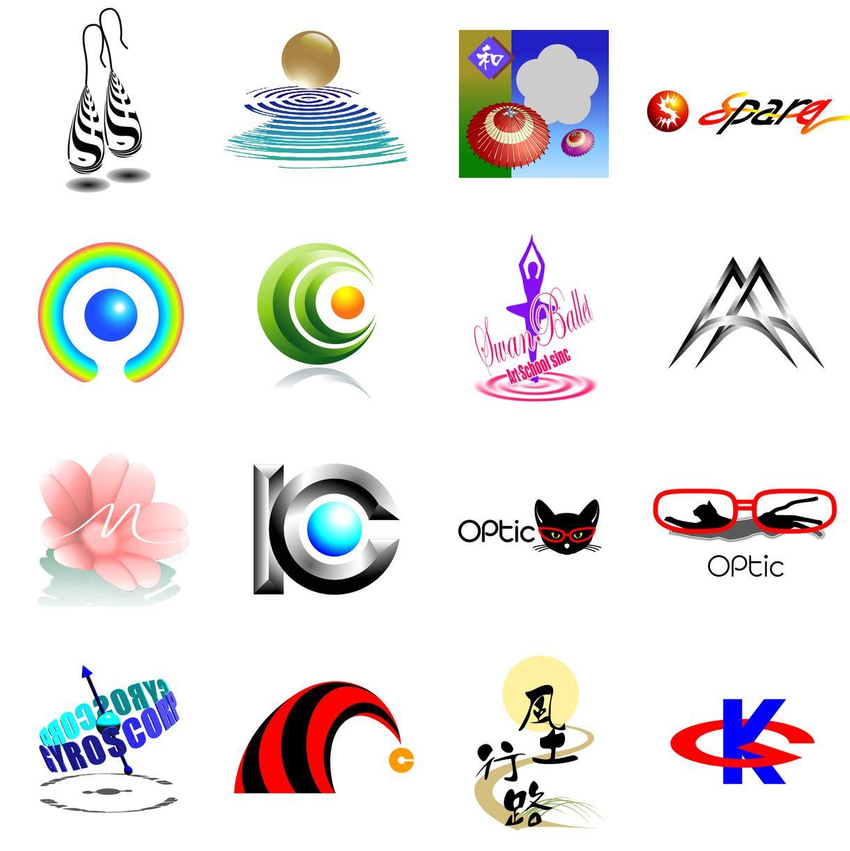 ロゴの仕上げ(清書)をいたします 自分のアイディアでロゴを作りたい方へ、高品質に仕上げます。