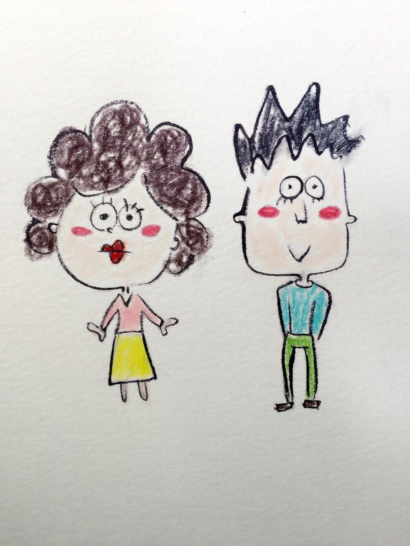 ゆるーいイラスト描きます!