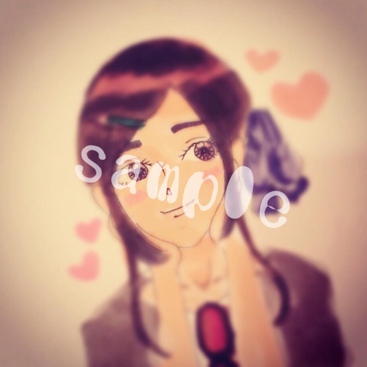アナタのイメージにあうようにアイコン、キャラクター、イラスト描きます
