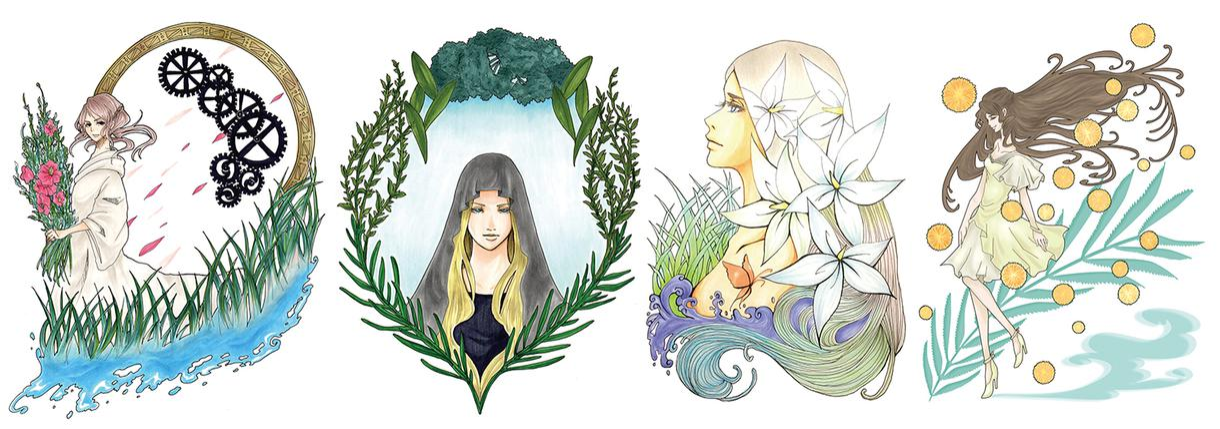 用途に合わせてイラストを描きます 趣味や贈り物など、用途に合わせてイラストを作成します。