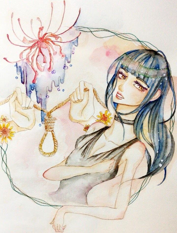 アナログ水彩イラストを描きます 水彩でイラスト描きます。アイコン、似顔絵など