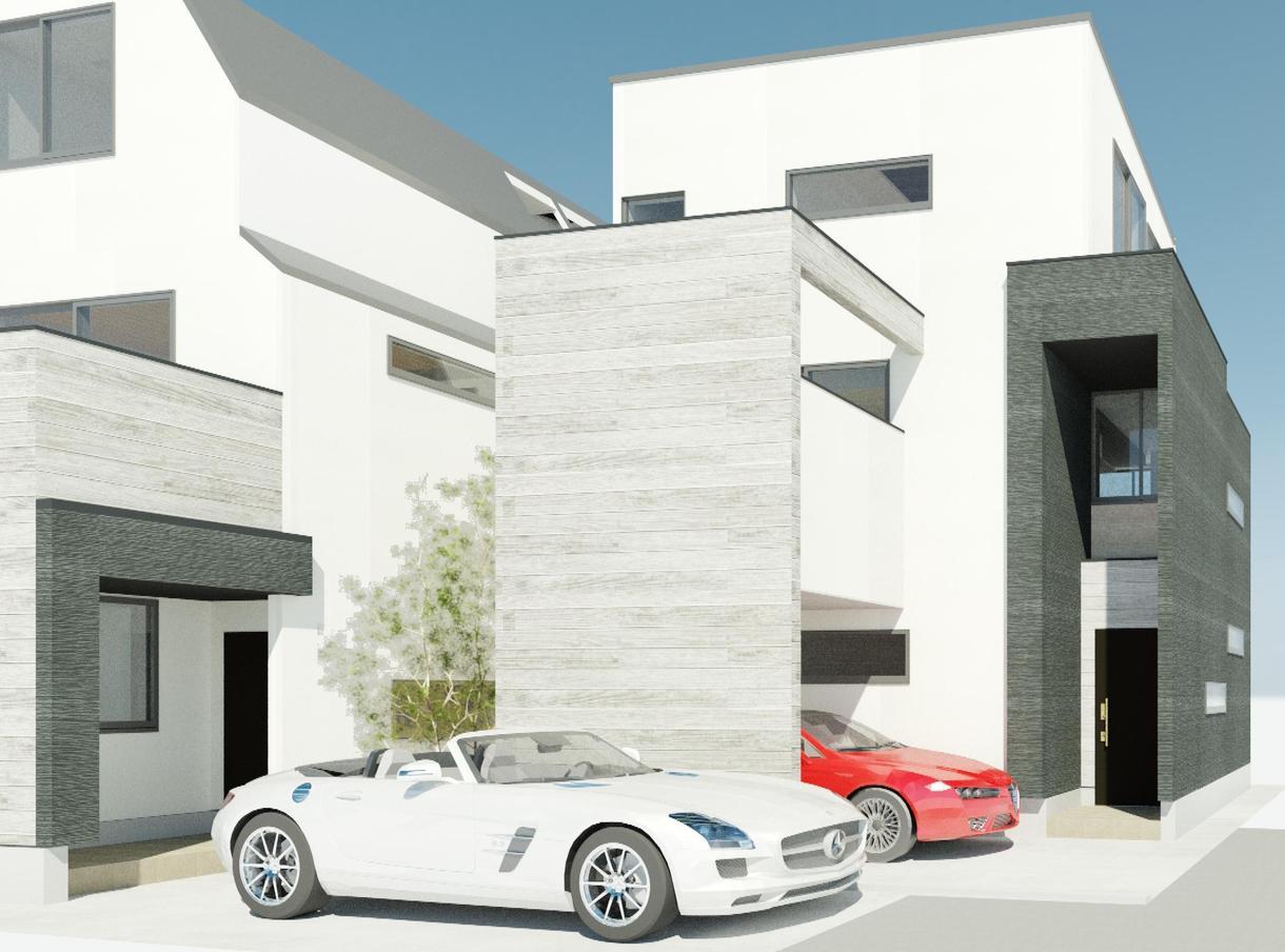 家造りでのデザイン、建築士がお手伝い致します 500棟の住宅に携わった売れっ子建築士とデザインからの家造り