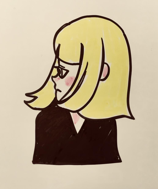 アイコンイラスト描きます InstagramなどのSNSなどに使える似顔絵イラスト!