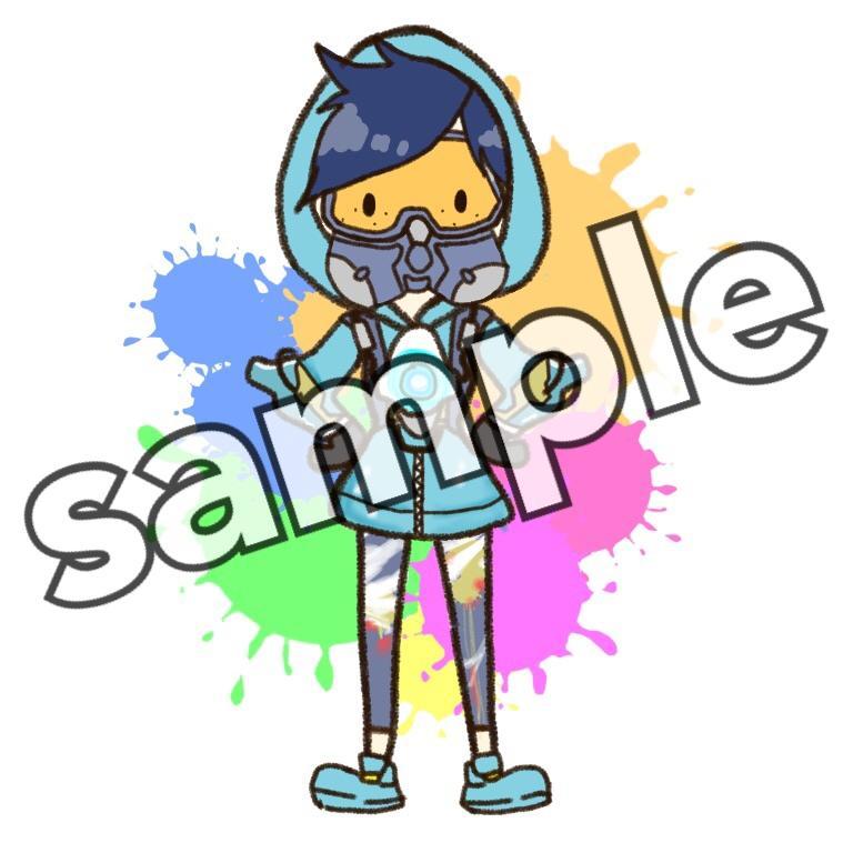 アニメ・ゲームの【キャラアイコン】描きます SNSアイコン用のかわいい3頭身イラスト♡