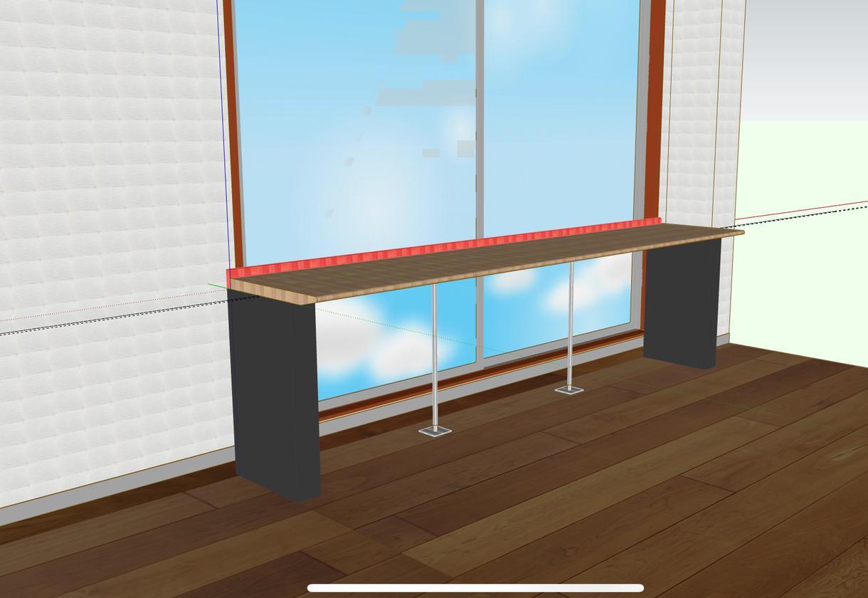家具立体図作図します 家具のスケッチ図を作図して欲しい方にオススメ